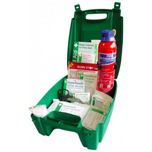 Evolution K3500XVH Car and Taxi First Aid Kit with Fire Extinguisher