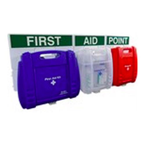 Evolution FAP34 British Standard Compliant Comprehensive Catering Blue Case First Aid Point