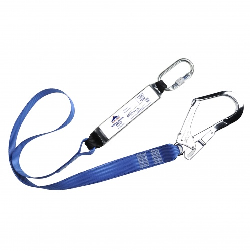 Portwest FP50 Single Webbing Lanyard With Shock Absorber