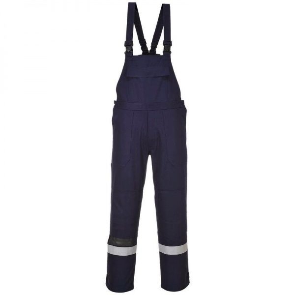 Portwest FR27 Bizflame Plus Bib and Brace 350g
