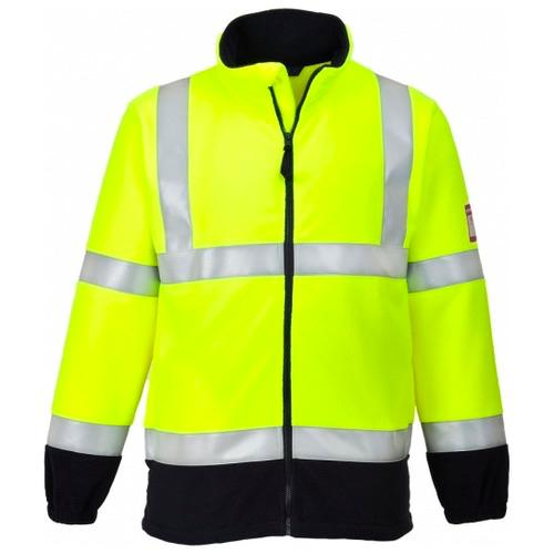 Portwest FR31 Flame Resistant Anti Static Hi Vis Fleece