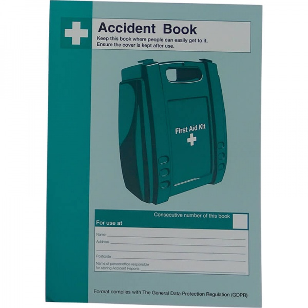 First Aid Q3202 Accident Book A5