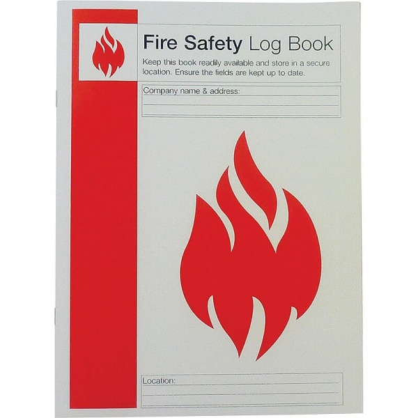 First Aid Q4127 Fire Safety Log Book