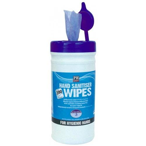 Portwest IW40 Hand Sanitiser Wipes (200 Wipes)