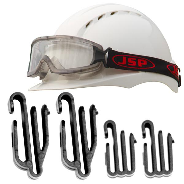 JSP EVO Lamp and Goggle Clips - Pack of 4