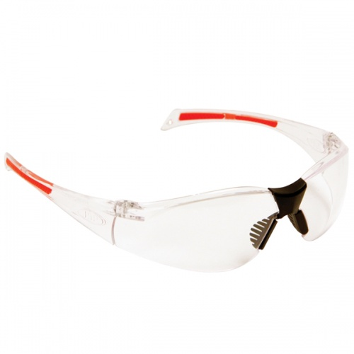 JSP Stealth 8000 Clear K and N Rated Safety Spectacle
