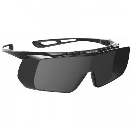 JSP Stealth Coverlite™ Overspec Smoke K Rated Safety Spectacles