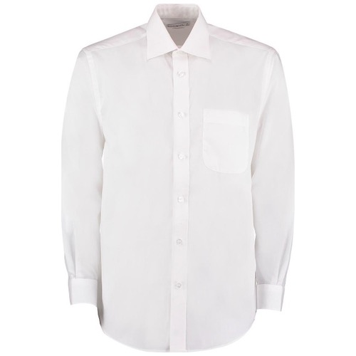 Kustom Kit KK104 Business Poplin Shirt Long Sleeve