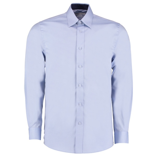 Kustom Kit KK189 Men's Contrast Premium Oxford Shirt Long Sleeve