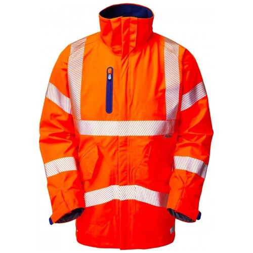 Leo Workwear A20-O Marisco High Performance Waterproof Jacket Orange