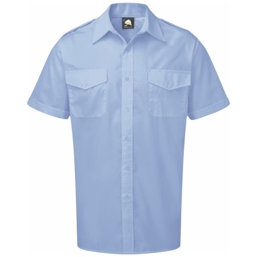 ORN Clothing The Essential 5800 Short Sleeve Pilot Shirt 105gsm