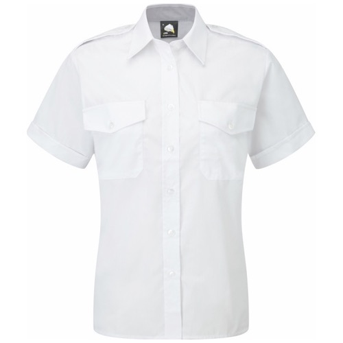 ORN Clothing The Classic 5850 Short Sleeve Pilot Blouse 115gsm