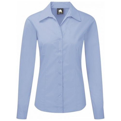 ORN Clothing The Premium Oxford 5660 Long Sleeve Blouse 145gsm