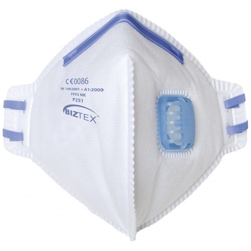 Portwest P251 FFP2 Valved Dust Mask Fold Flat Respirator x 20