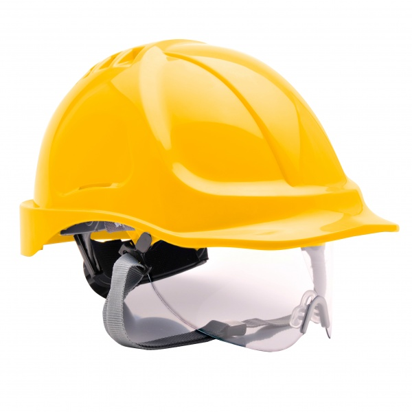Portwest PW55 Endurance Visor Hard Hat Helmet