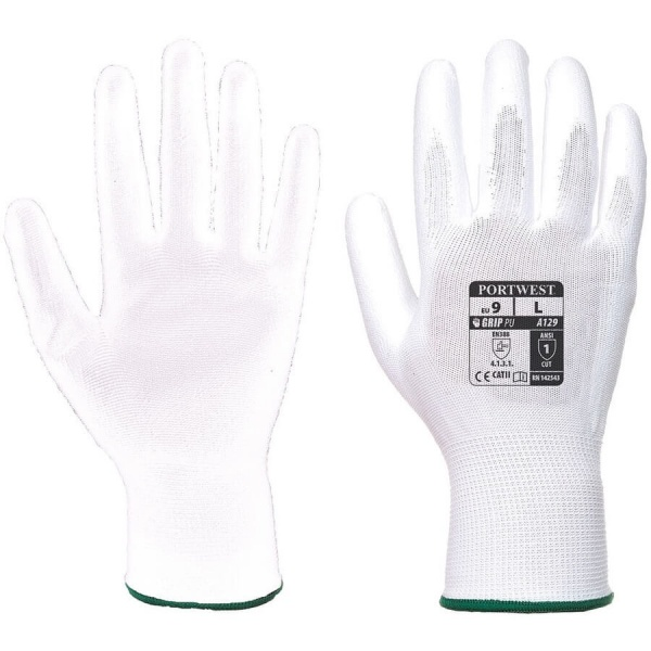 Portwest A129 PU Palm Glove 12 Pack