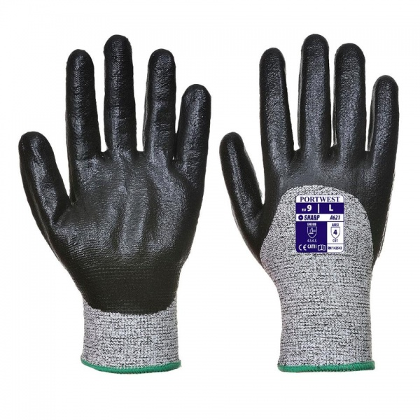 Portwest A621 Cut 5 3/4 Nitrile Foam Glove