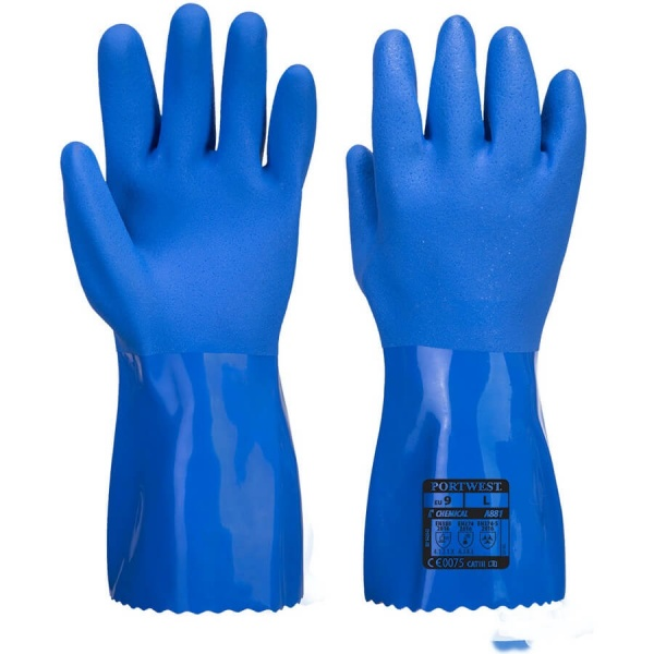 Portwest A881 Marine Ultra PVC Chem Gauntlet