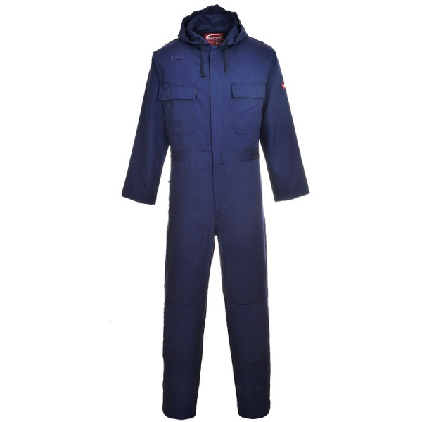 Portwest BIZ6 Bizweld Hooded Coverall