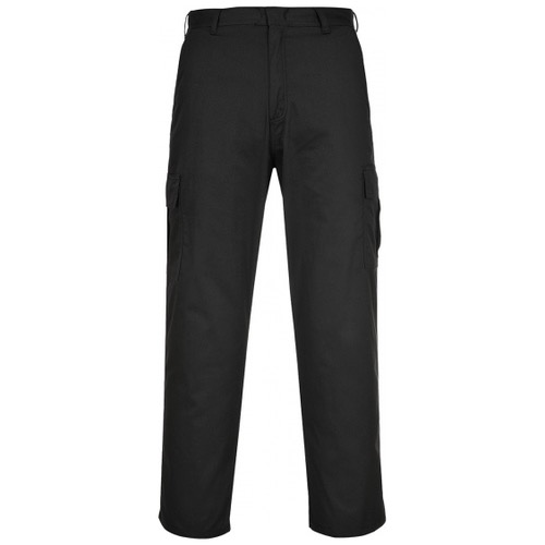 Portwest C701 Combat Cargo Trouser Black