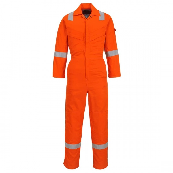 Portwest FR28 Flame Resistant Light Weight Anti Static Coverall 280gm