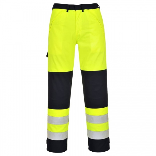 Portwest FR62 Hi Vis Multi Norm Trousers
