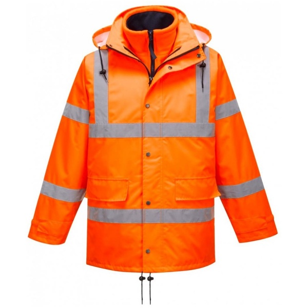 Portwest RT63 Breathable Hi Vis Traffic Jacket (Interactive)