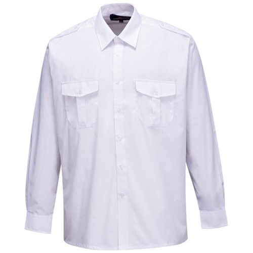 Portwest S102 Mens Pilot Shirt Long Sleeve