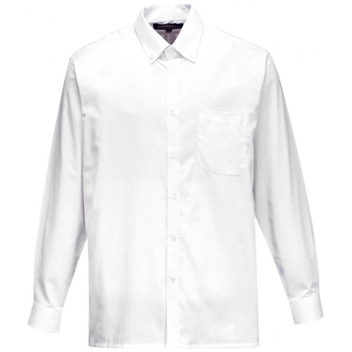 Portwest S107 Mens Oxford Shirt Long Sleeve
