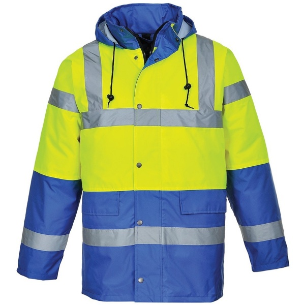Portwest S466 Hi Vis Contrast Traffic Jacket