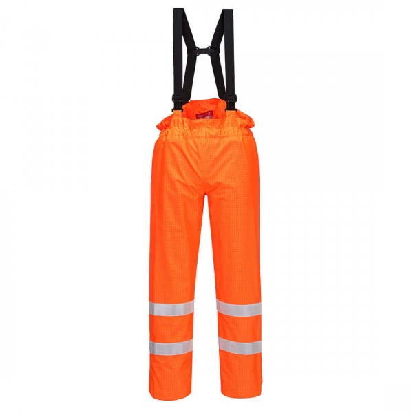 Portwest S780 Bizflame Rain Unlined - Hi Vis Antistatic FR Trouser