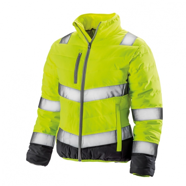 Result Safe-Guard R325F Womens Hi Vis Soft Padded Safety Jacket