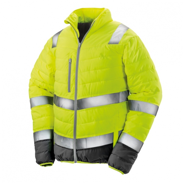 Result Safe-Guard R325M Mens Soft Padded Safety Jacket