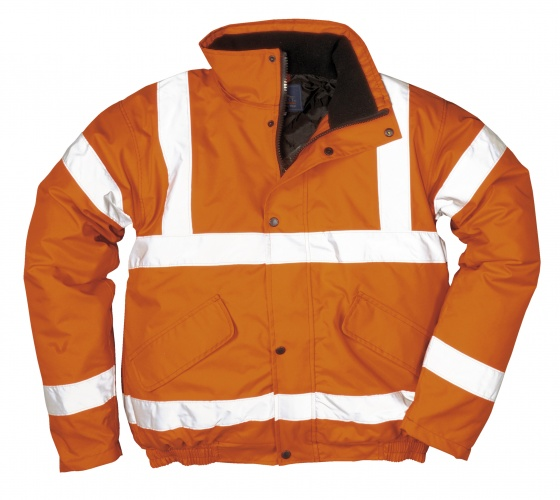Portwest Railway RT32 Hi Vis Bomber Jacket