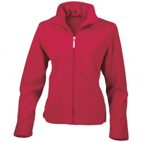 Result Clothing Womens Micro Fleece Jacket R085f Bk