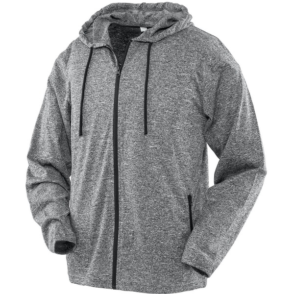 Result Spiro Activewear S277M Mens Hooded Tee-Jacket Lifestyle