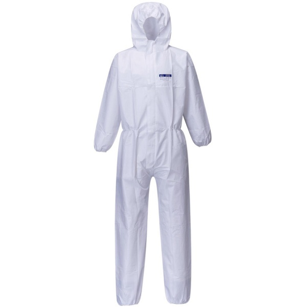 Portwest ST40 BizTex Microporous Coverall Type 5/6 (Carton Qty 50)