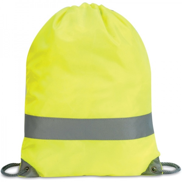 Shugon SH5892 Hi-Vis Stafford Drawstring Tote Backpack