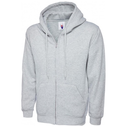Uneek UC504 Adults Classic Full Zip Hooded Sweatshirt 300gsm