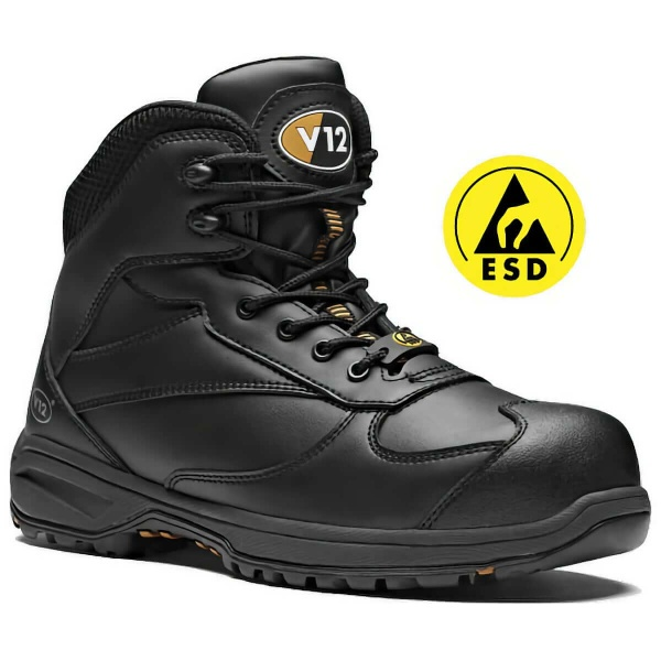 V12 Footwear V1920 Octane IGS Metal Free Safety Hiker Boots