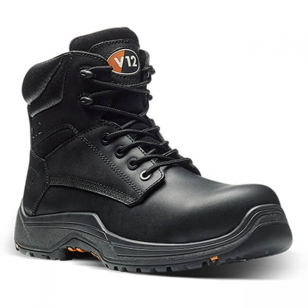 V12 Footwear VR600.01 Bison IGS Black Metal Free Derby S3 HRO SRC Safety Boot