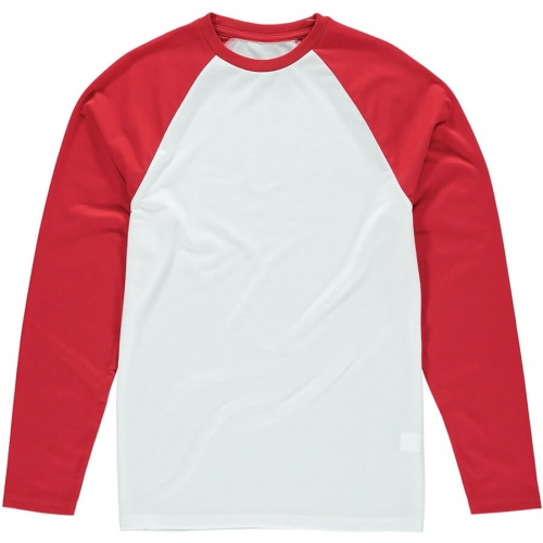 Vanilla VAN104 Men's Long Sleeve Baseball Tee