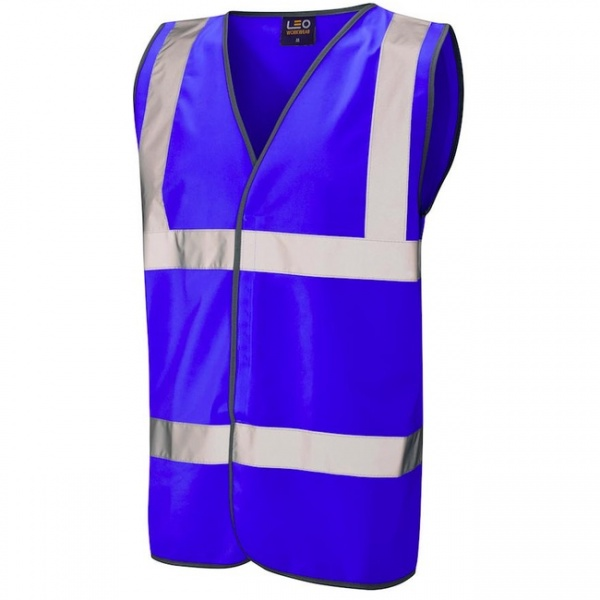 Hi Vis Vest Royal Blue Tarka W01-ROY