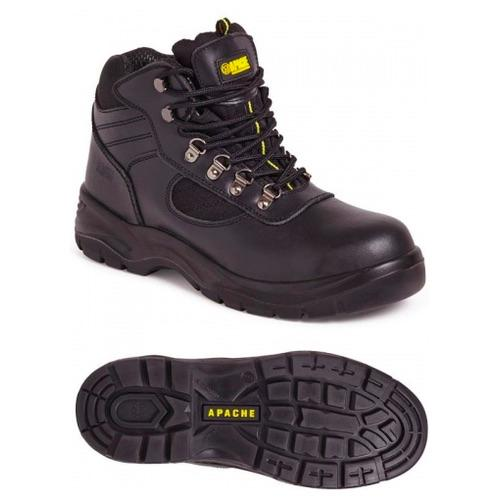 Apache AP303 Black Hiker Safety Boot