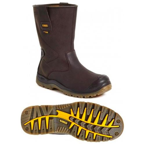 Dewalt Tungsten Waterproof Rigger Boot Brown