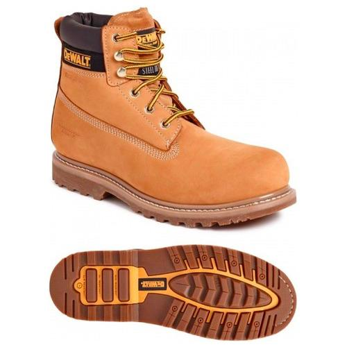 7c2f8b8872f Dewalt Explorer Nubuck 6 inch Safety Boot Honey