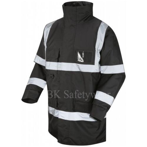 Superior Hi Vis Jacket Black