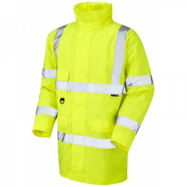 Leo Workwear A01-Y Tawstock Hi Vis Jacket Yellow