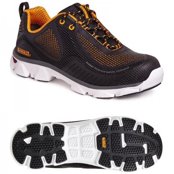 Dewalt Krypton PU Sports Safety Trainer Black