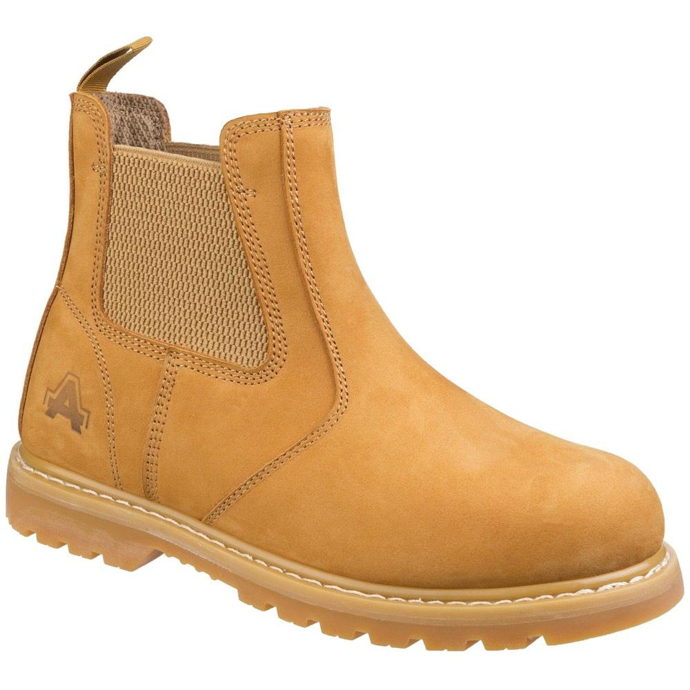 aeab976d566 Amblers Safety AS175 SBP Honey Welted Dealer Safety Boots